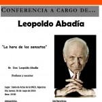 Algeciras: La conferencia de Leopoldo Abadía levanta gran expectación